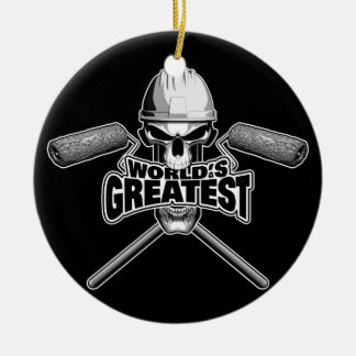 World's Greatest Painter Ceramic Ornament