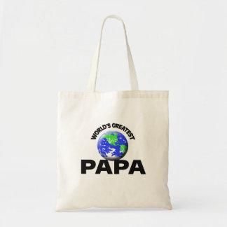 World's Greatest Papa Budget Tote Bag
