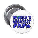 World's Greatest Papa Button