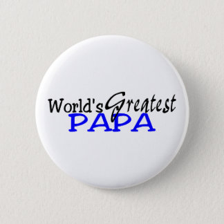 Worlds Greatest Papa Button