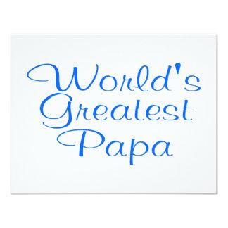 Worlds Greatest Papa Card