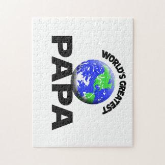 World's Greatest Papa Jigsaw Puzzles