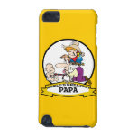 WORLDS GREATEST PAPA MEN CARTOON iPod TOUCH 5G COVERS