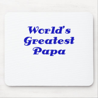 Worlds Greatest Papa Mouse Pad