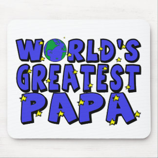 World's Greatest Papa Mouse Pad