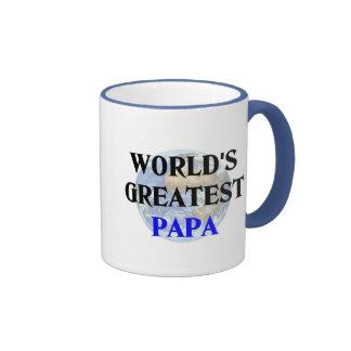 World's Greatest Papa Ringer Coffee Mug