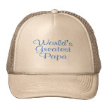 Worlds Greatest Papa Trucker Hat