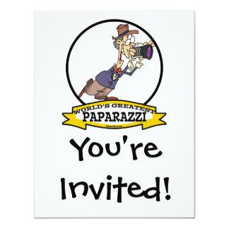 WORLDS GREATEST PAPARAZZI II MEN CARTOON CARD