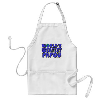 World's Greatest Papou Aprons