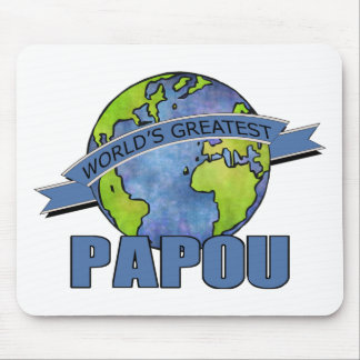 World's Greatest Papou Mouse Pad
