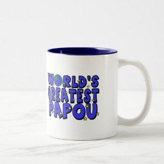 World's Greatest Papou Mugs