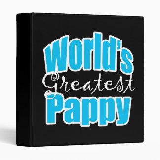 Worlds Greatest Pappy Binder