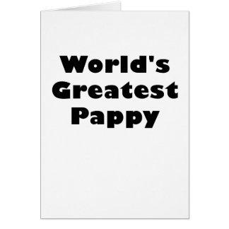 Worlds Greatest Pappy Card