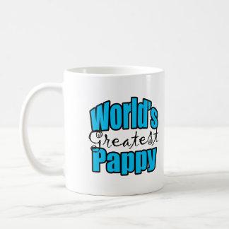 Worlds Greatest Pappy Classic White Coffee Mug
