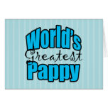 Worlds Greatest Pappy Greeting Cards