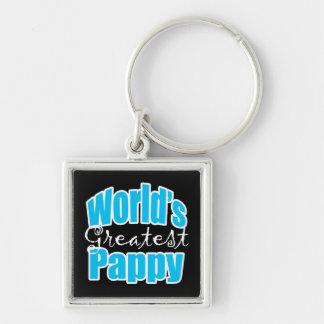 Worlds Greatest Pappy Keychain