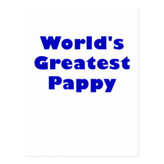 Worlds Greatest Pappy Postcard