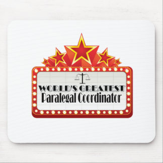 World's Greatest Paralegal Coordinator Mouse Pad