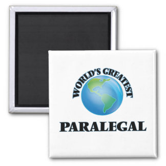 World's Greatest Paralegal Refrigerator Magnets