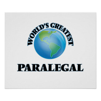 World's Greatest Paralegal Posters