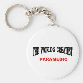 World's greatest Paramedic Key Chains