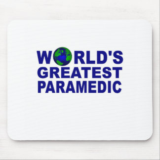 World's Greatest Paramedic Mousepad