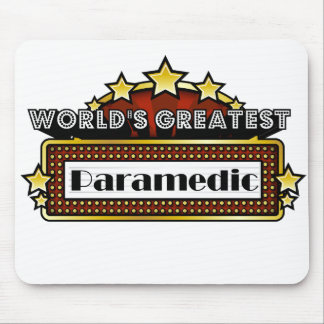 World's Greatest Paramedic Mouse Pads