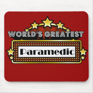 World's Greatest Paramedic Mouse Pad