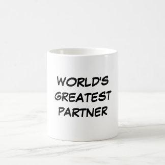 """World's Greatest Partner"" Mug"