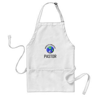 World's Greatest Pastor Adult Apron
