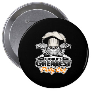 World's Greatest Pastry Chef v2 Pinback Button