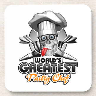 World's Greatest Pastry Chef v3 Drink Coaster