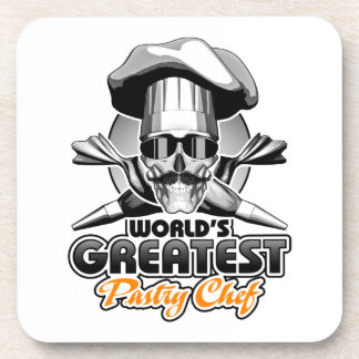 World's Greatest Pastry Chef v4 Drink Coaster