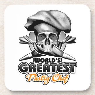World's Greatest Pastry Chef v6 Beverage Coaster