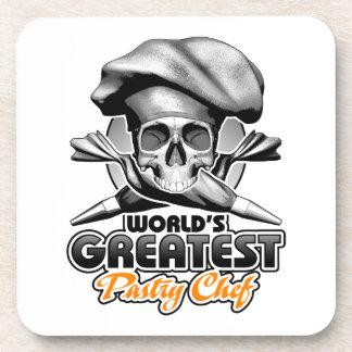 World's Greatest Pastry Chef v6 Beverage Coaster