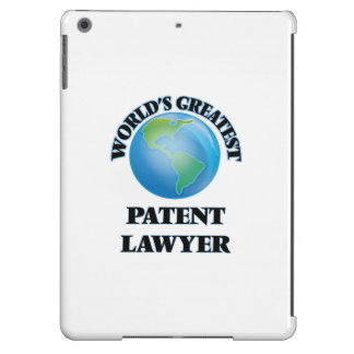 World's Greatest Patent Lawyer iPad Air Case