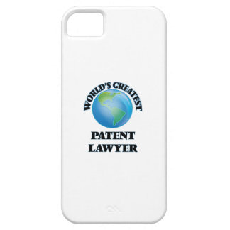World's Greatest Patent Lawyer iPhone 5 Case