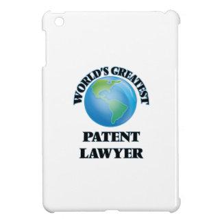 World's Greatest Patent Lawyer iPad Mini Cover