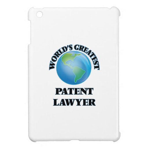 World's Greatest Patent Lawyer iPad Mini Cover