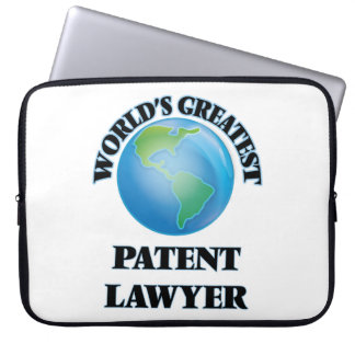 World's Greatest Patent Lawyer Laptop Sleeve