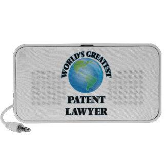 World's Greatest Patent Lawyer Speaker System