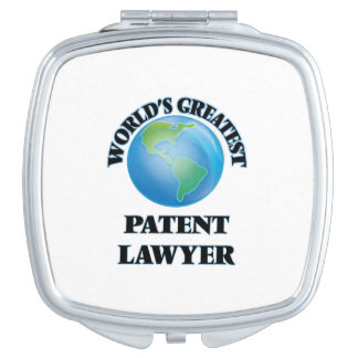 World's Greatest Patent Lawyer Vanity Mirrors