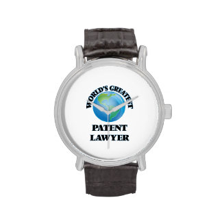 World's Greatest Patent Lawyer Wrist Watches