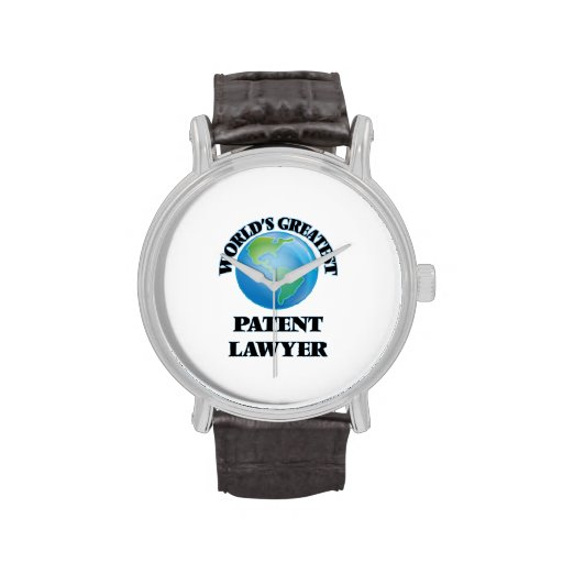 World's Greatest Patent Lawyer Wrist Watches