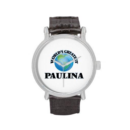 World's Greatest Paulina Wrist Watch