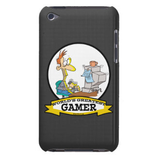 WORLDS GREATEST PC GAMER TEEN CARTOON Case-Mate iPod TOUCH CASE