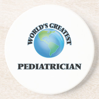 World's Greatest Pediatrician Drink Coasters