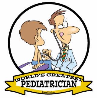 WORLDS GREATEST PEDIATRICIAN MEN CARTOON STATUETTE
