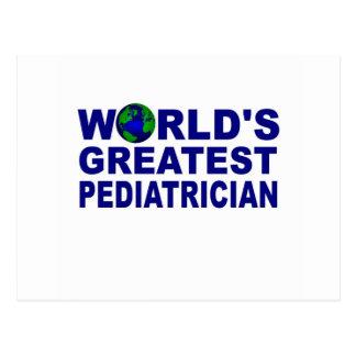 World's Greatest Pediatrician Postcard