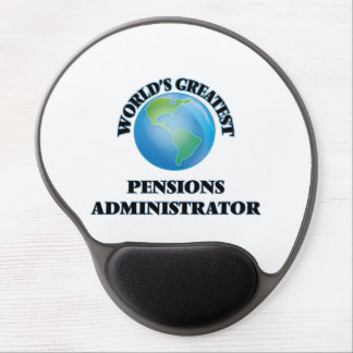 World's Greatest Pensions Administrator Gel Mouse Pads